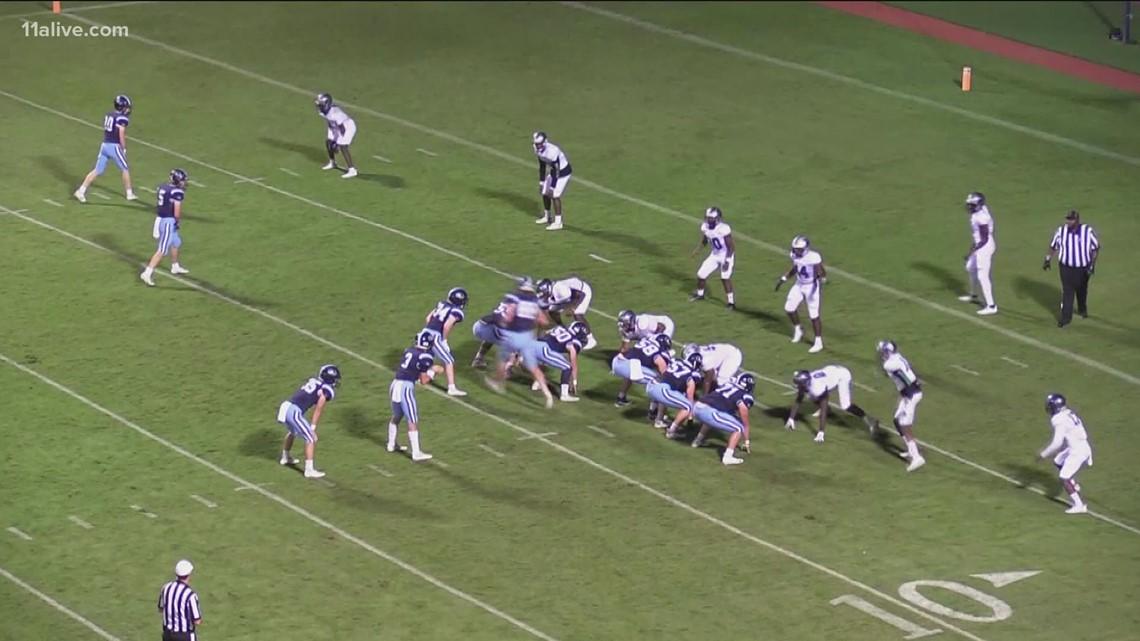 KIPP vs. Lovett   Week 8 high school football