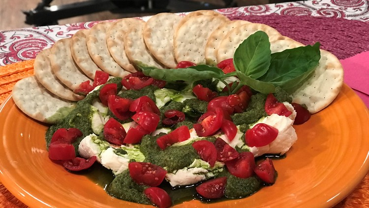 Goat Cheese and Pesto