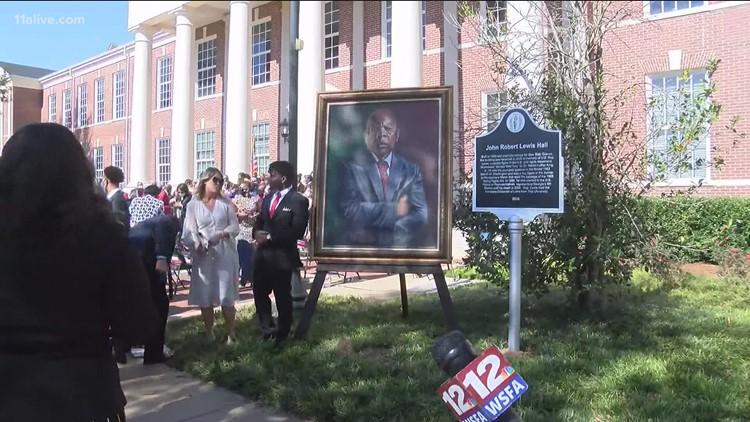 Troy University dedicates building named for John Lewis