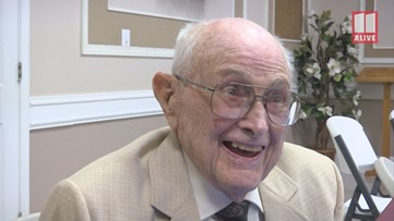 Marietta man who said he helped build the Lockheed's first jet turns 103