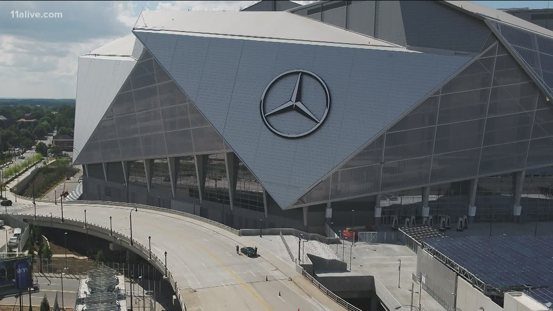 900 seats available in the super fan section in Mercedez Benz stadium