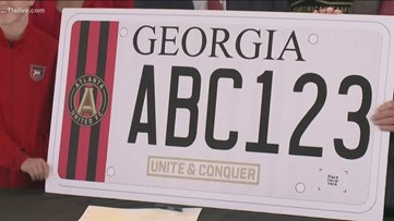 Here's when Atlanta United fans can order a specialized license plate