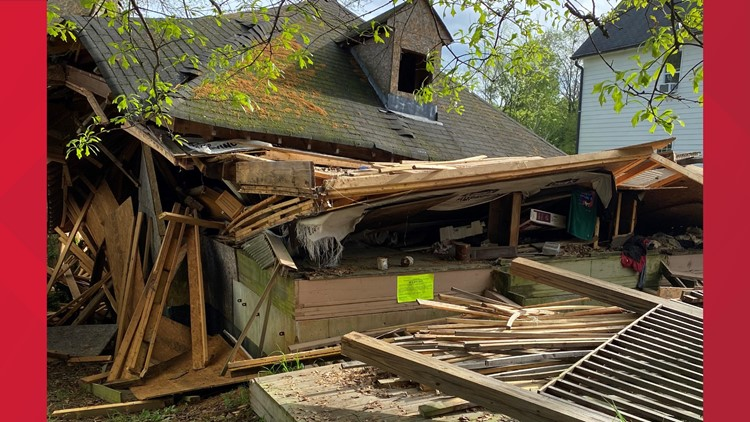 House collapse in Atlanta brings fire department to vacant home