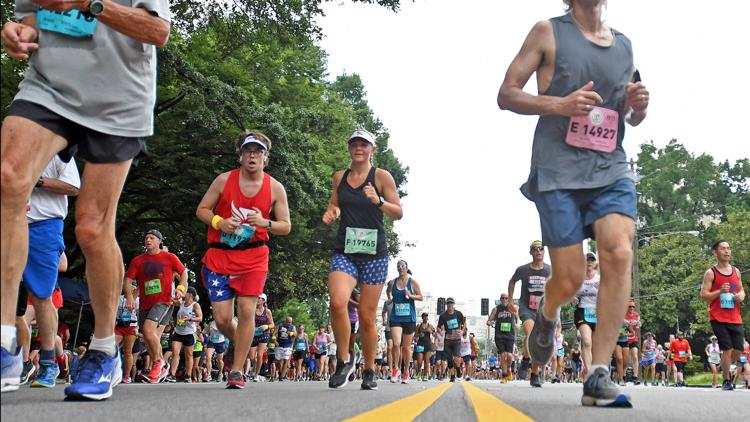 Road closures for 2021 AJC Peachtree Road Race