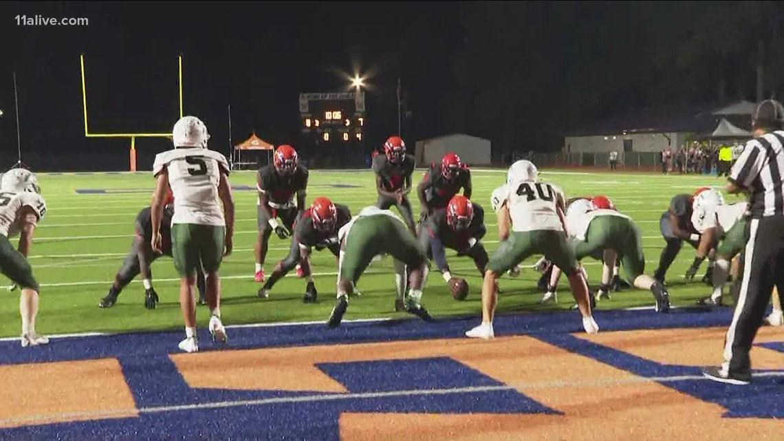 Kennesaw Mtn. vs. South Cobb   Week 8 high school football
