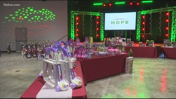 Henry County church gives away $15,000 in toys and bikes to Henry, Newton county communities!