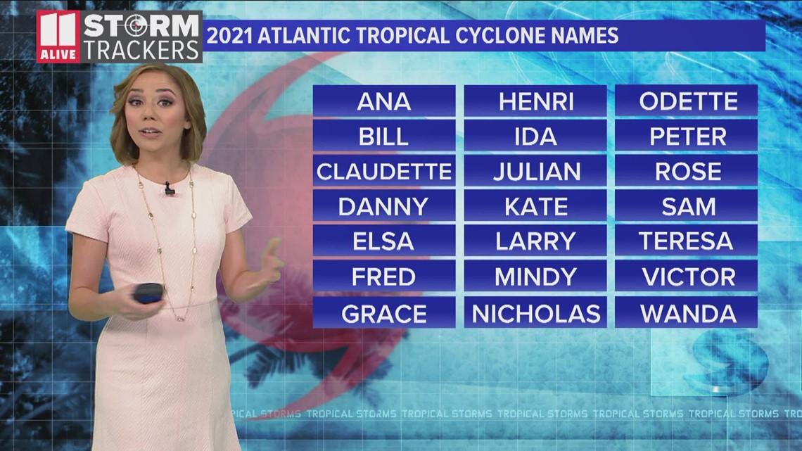 Atlantic Hurricane Season starts June 1st, here's the list of names