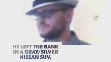 Carrollton police seek fedora-wearing bank robber