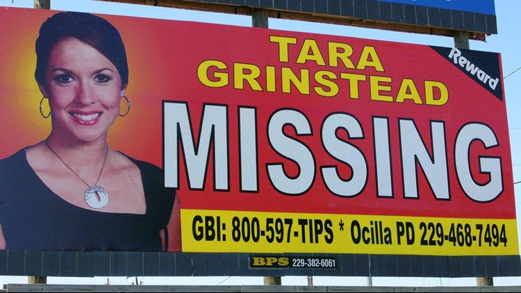Missing billboard, Tara Grinstead