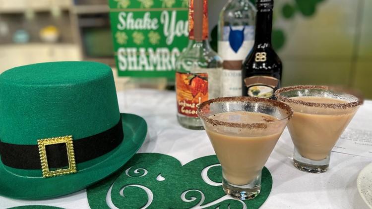 Sumptuous Living's Irish Coffee Martini