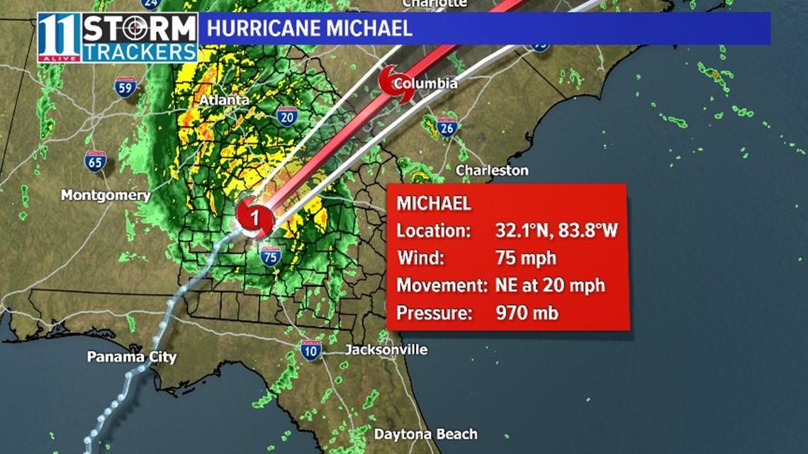 Gas Companies In Ga >> TIMELINE | How will Hurricane Michael affect Georgia? | 11alive.com