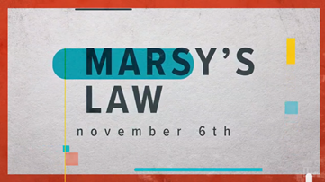 What is the constitutional amendment, Marsy's Law, on the 2018 Georgia ballot?