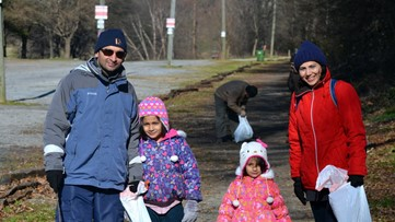 Family Volunteer Day brings generations together for good