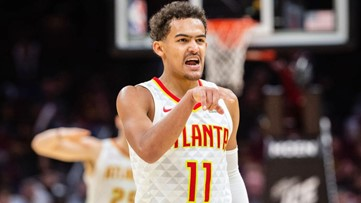 Trae Magnifique! Rookie Young posts monster numbers as Hawks collect first win