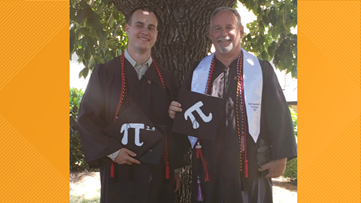 Peachtree City assistant police chief, son earn criminal justice degrees together