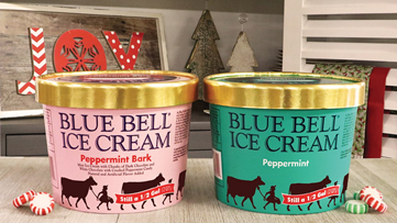 O' Holy Night! Blue Bell has released two holiday ice cream flavors