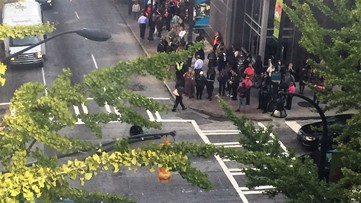All-clear given after suspicious package found near Peachtree Center Mall