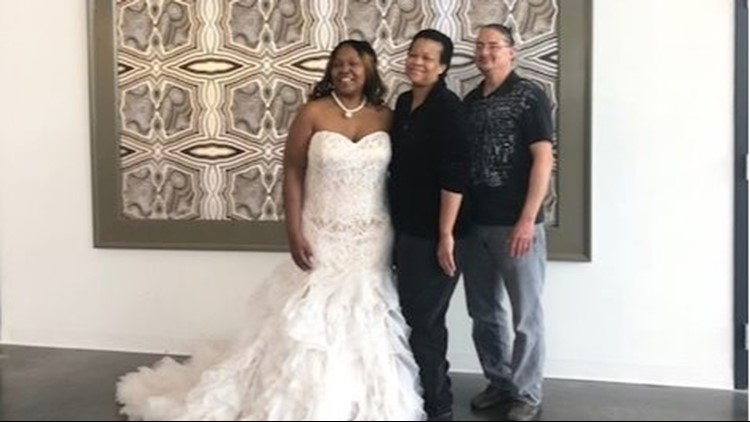 Hurricane Michael turns bride's wedding dress search into disaster, but designer steps in to help