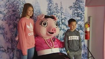 Macy's Pink Pig returns to Atlanta's Lenox Square Mall for holiday season