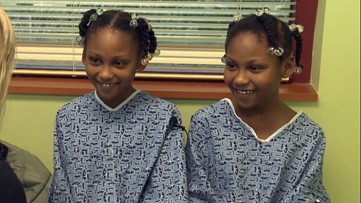 Scoliosis treatment makes twins taller, stronger