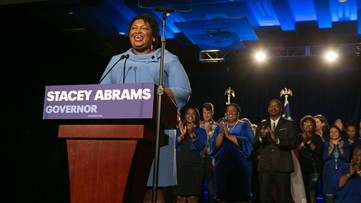 Stacey Abrams speech on election night
