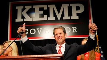 Brian Kemp speech on election night