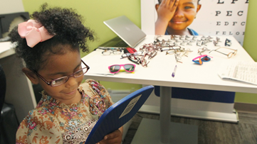 Grant program supports students with vision problems