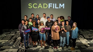 'Instant Family' director Sean Anders shares stage with SCAD students