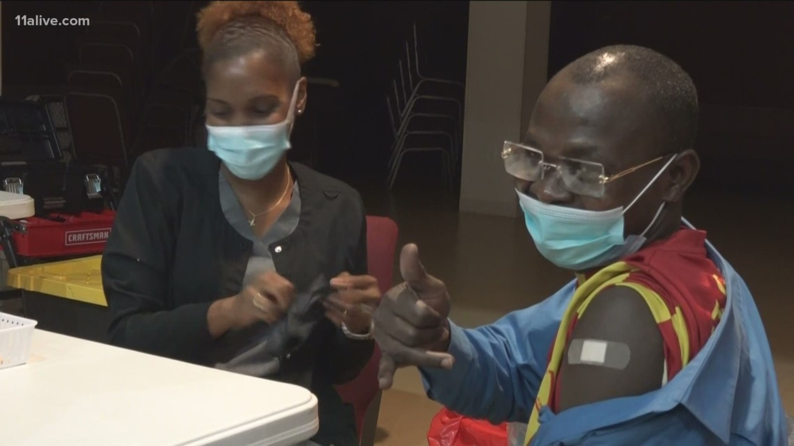 CORE Georgia aims to vaccinate people in the diverse Clarkston community