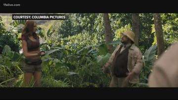 Georgia-filmed 'Jumanji' opens today