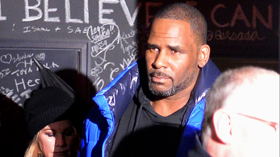 R. Kelly ordered jailed on $1M bond at Chicago hearing