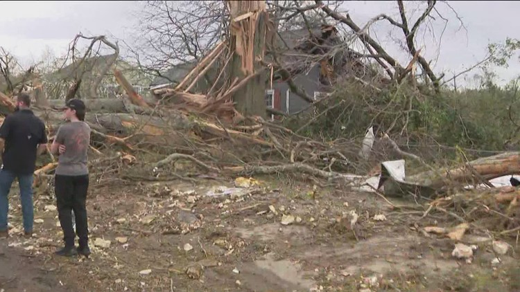 How to help tornado victims in Newnan, Georgia