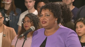 Full Text: Stacey Abrams' speech to end the Georgia governor's race