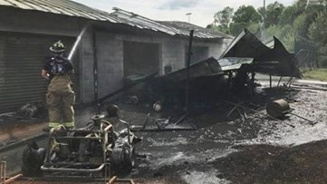 Atlanta companies rally behind South Paulding baseball team after equipment-shed fire