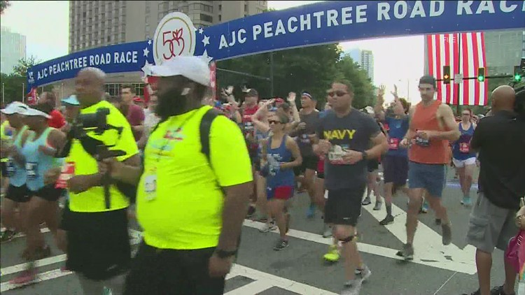 AJC Peachtree Road Race to be held over 2 days