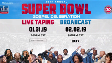 Super Bowl Gospel Celebration will bring big names to Atlanta
