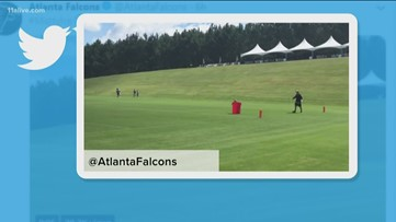 Last day of Falcons mini-camp