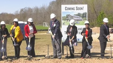 East Point officals hold groundbreaking ceremony for sports facility