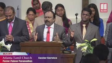 Atlanta Tamil Church prays for Sri Lanka victims