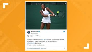 Georgia-born teen Coco Gauff qualifies for Wimbledon