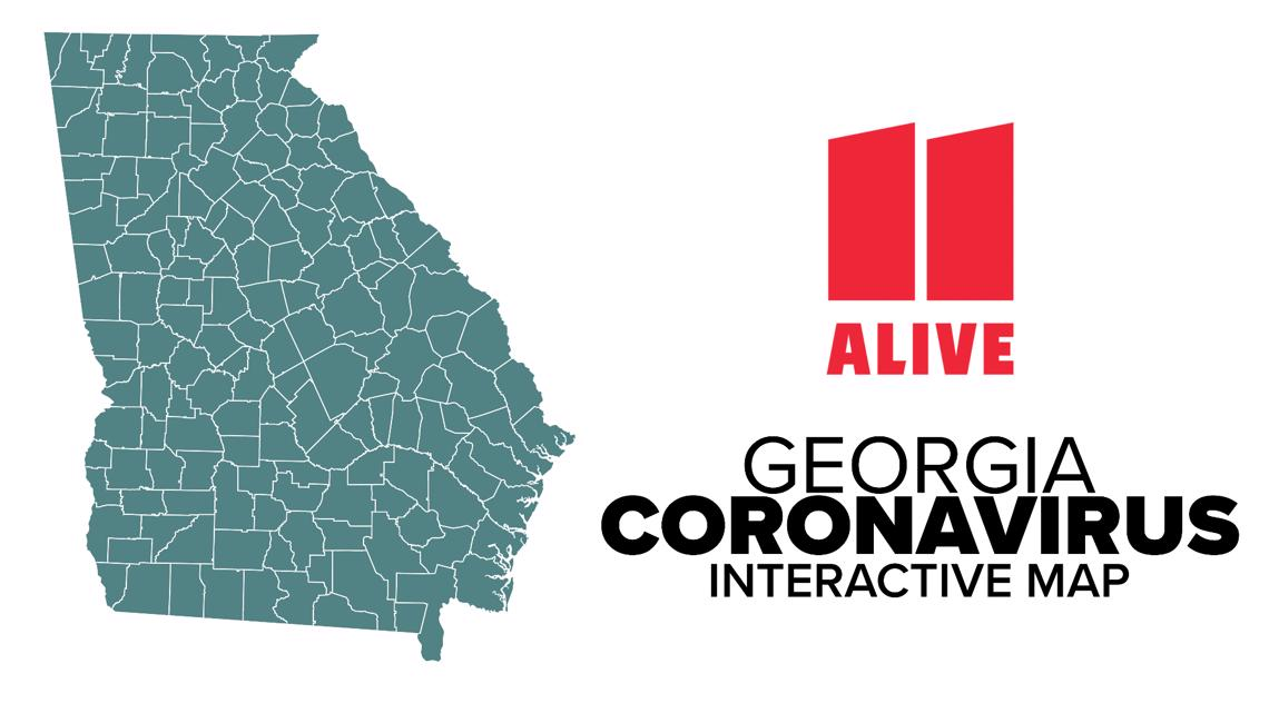 Georgia COVID-19 data | Interactive map of the state