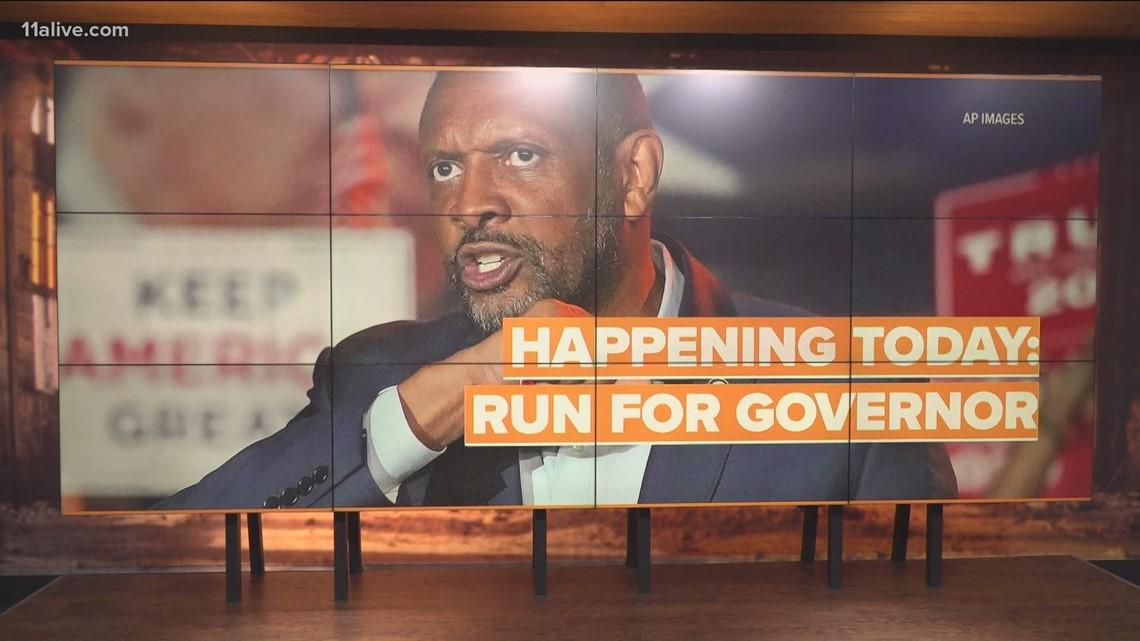 Pro-Trump ex-Democrat Vernon Jones to announce run for governor today