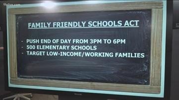 Sen. Kamala Harris proposes bill extending the school day to 6 p.m.