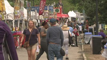 Atlanta's Dogwood Festival could get rained out