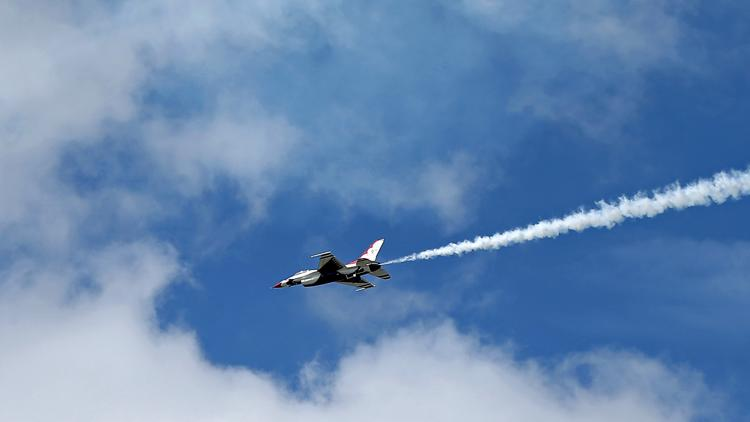 Thunderbirds back in Georgia for weekend show