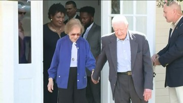 Jimmy Carter out of hospital after surgery from fall