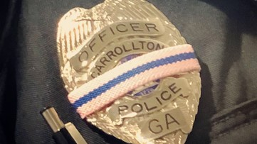 Officers in this town to wear special bands around badges, promote breast cancer awareness
