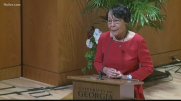 First African-American graduate at University of Georgia to get college named in her honor