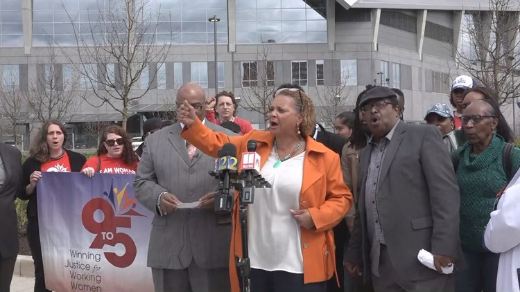 Unpaid Super Bowl workers demand accountability from NFL, City of Atlanta