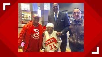 Hawks wish happy 101st birthday to East Point woman